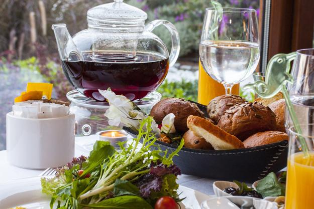 luksus brunch på restaurant la rustica i roskilde